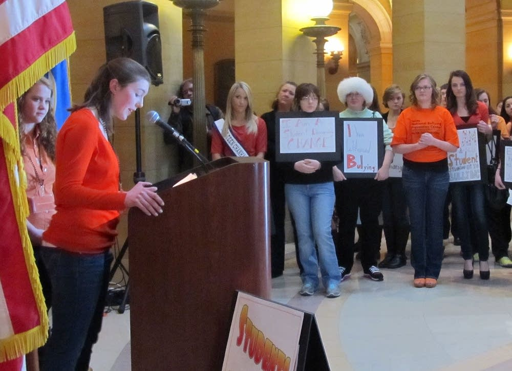 Rally against bullying