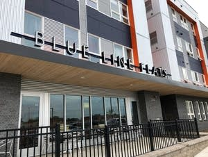 Blue Line Flats, an affordable housing complex in south Minneapolis.