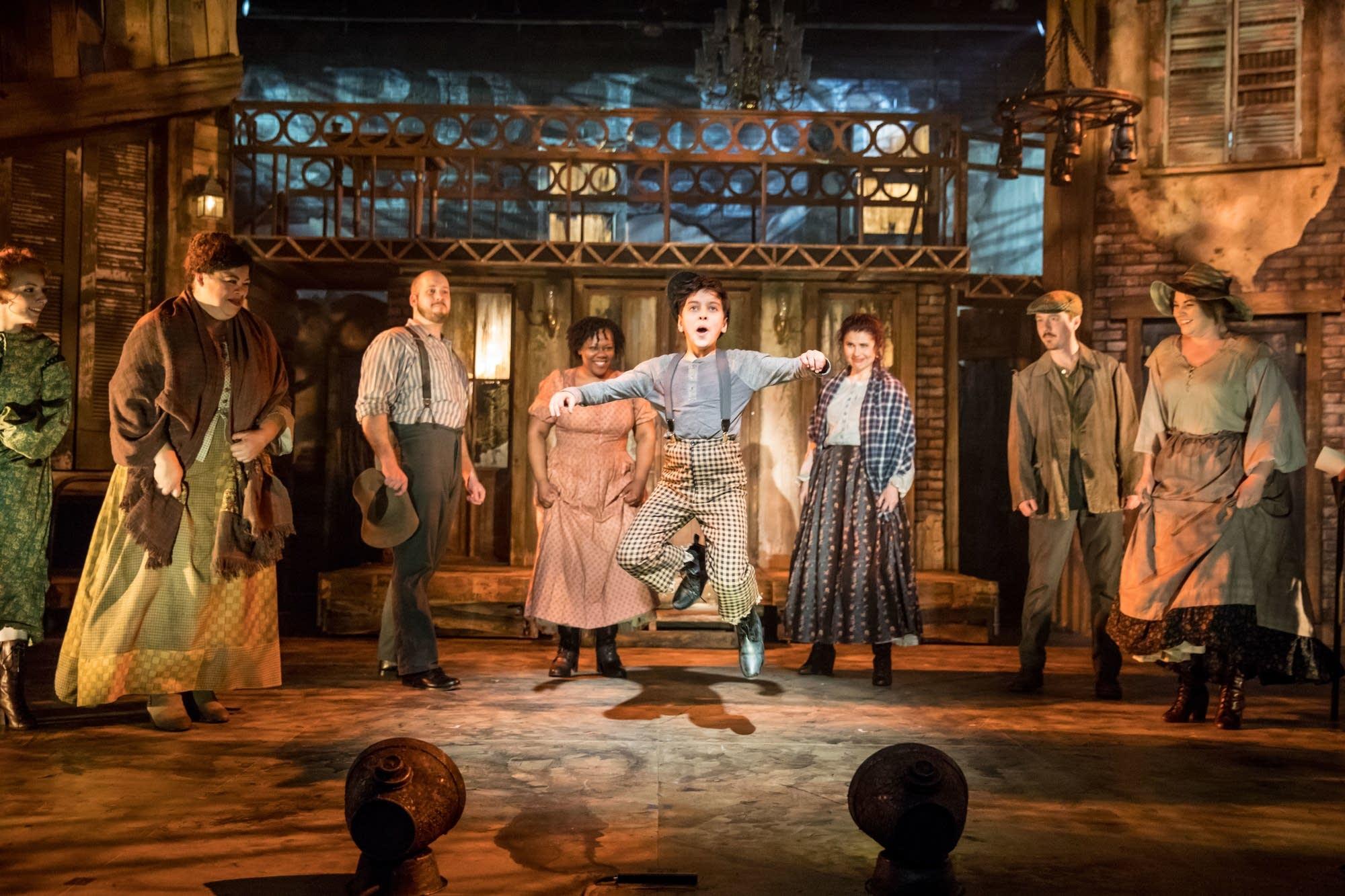 "Theater Latte Da presents the world premiere of ""Five Points."