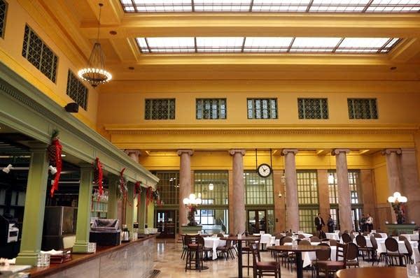 Union Depot lobby