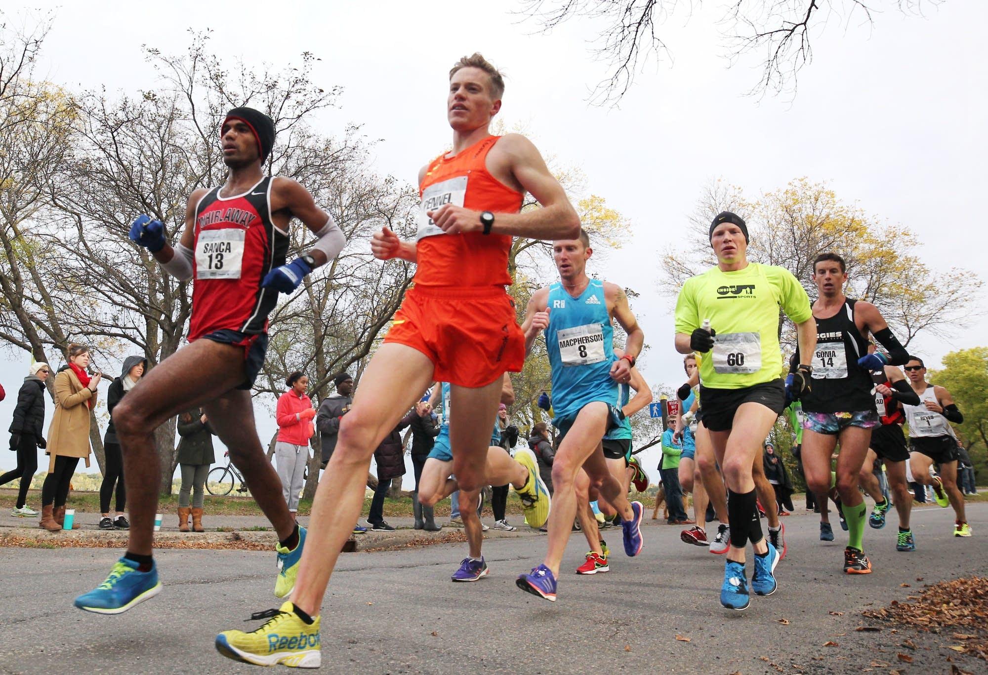 Tyler Pennel running