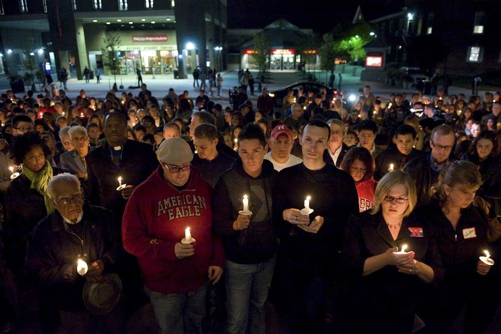 Vigil for Tyler Clementi