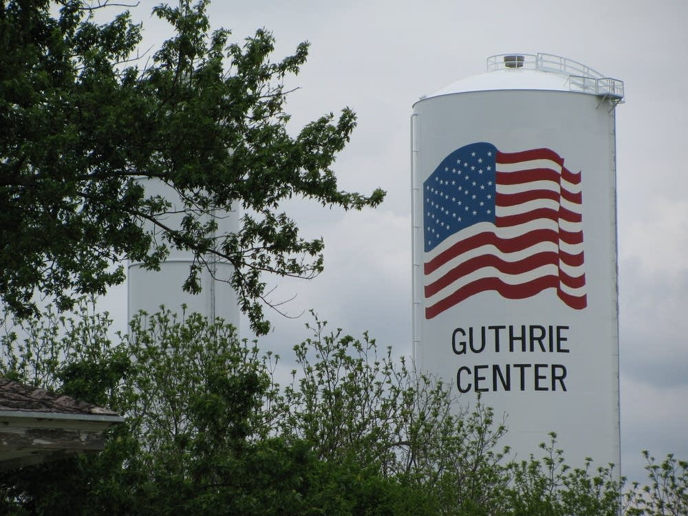 Guthrie Center watertower