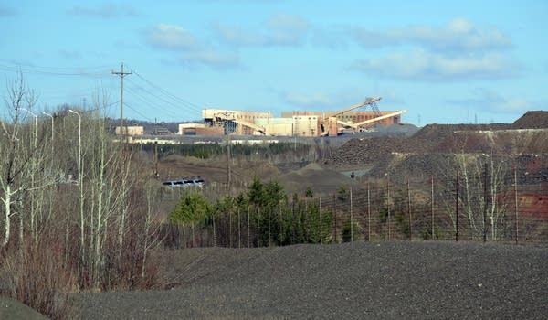 The Minntac taconite mine looms over Virginia.