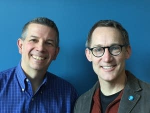 Doug Scholz-Carlson (right) with Steve Staruch