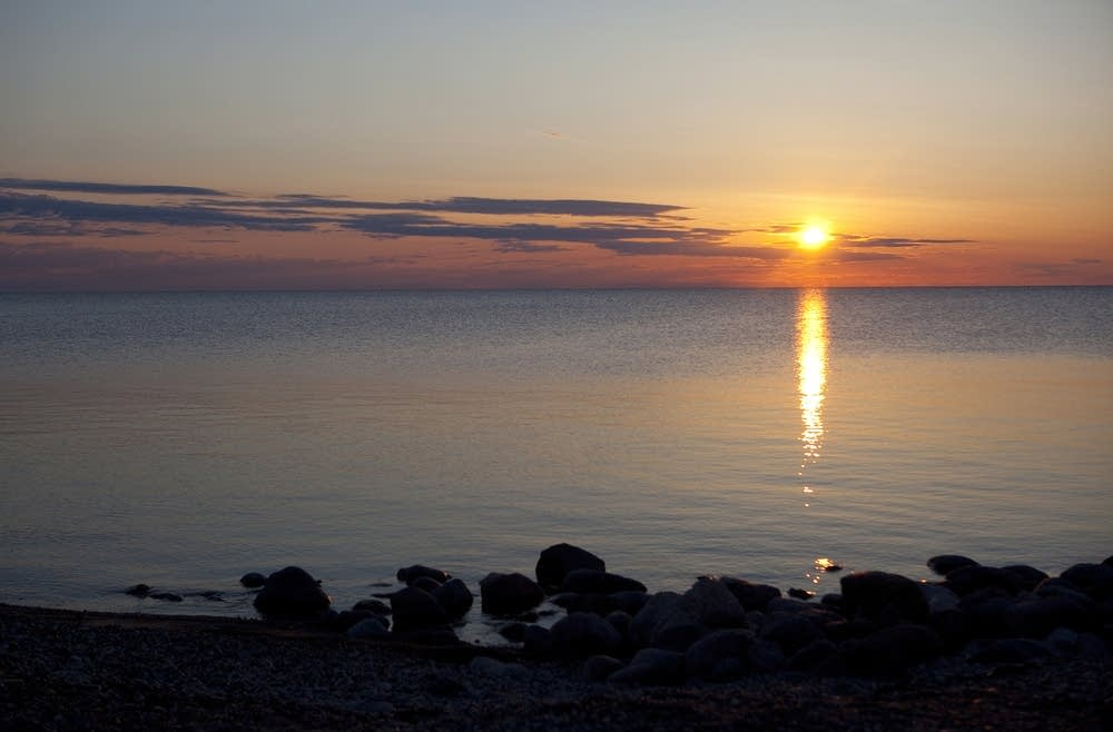 Lake Winnipeg sunrise