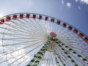 The Big Wheel is fully functioning at the State Fair grounds.
