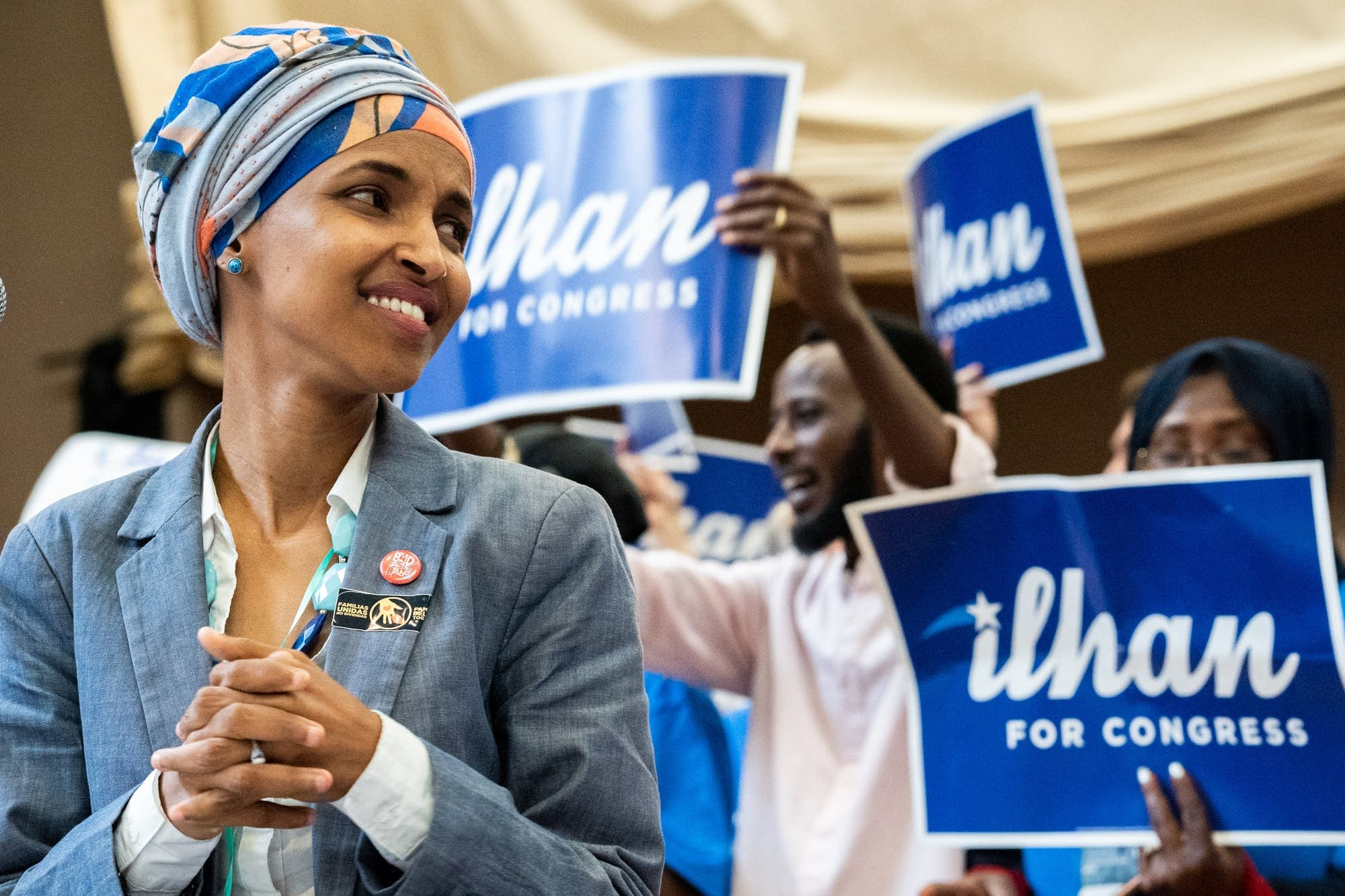 Ilhan Omar is running for Congress