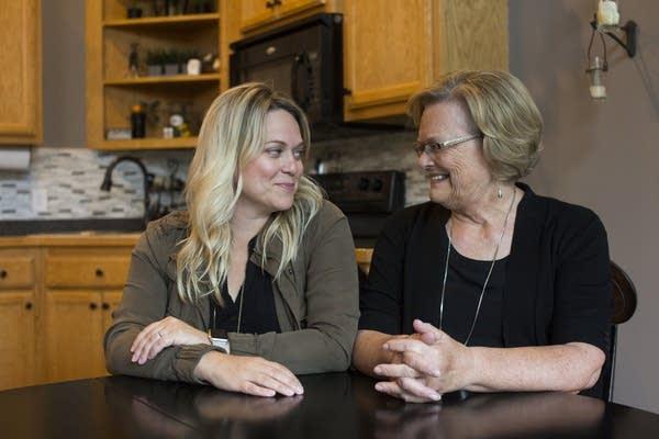Britt Stanton and Jane Helgesen.