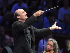 Conductor Andrew Manze