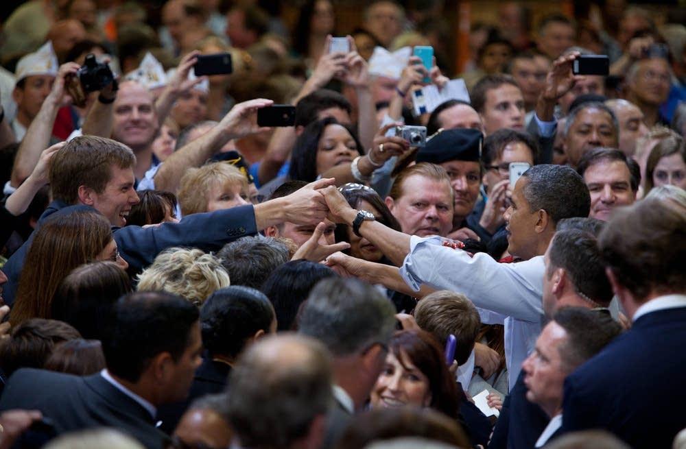 President Obama in Golden Valley
