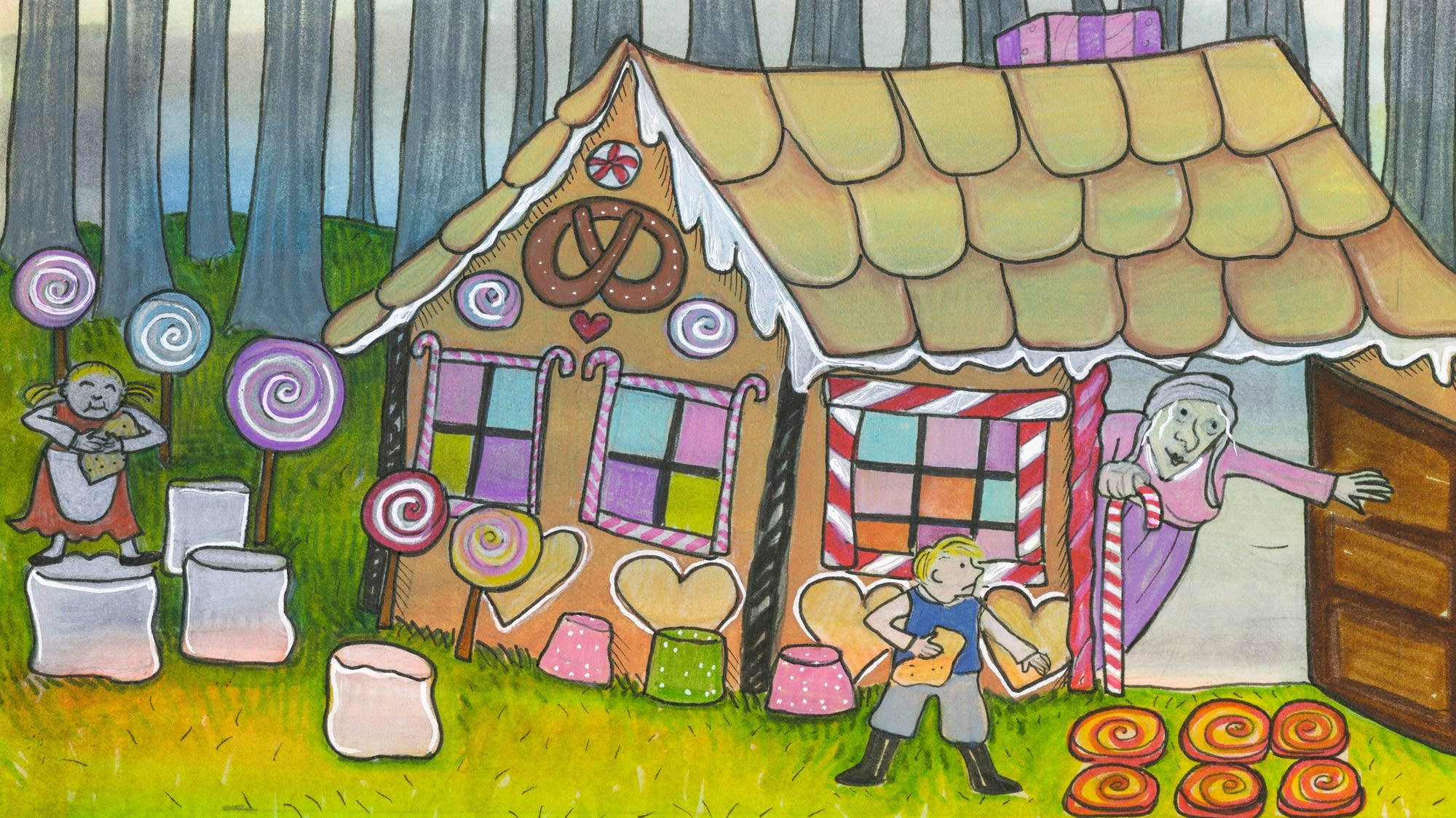 Classical Kids Storytime: Hansel and Gretel-09