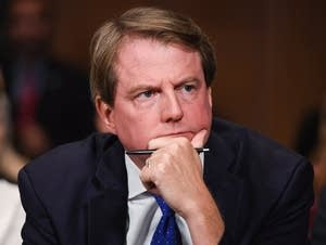 White House counsel Donald McGahn.
