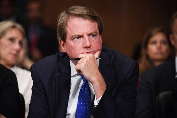 White House counsel Donald McGahn.