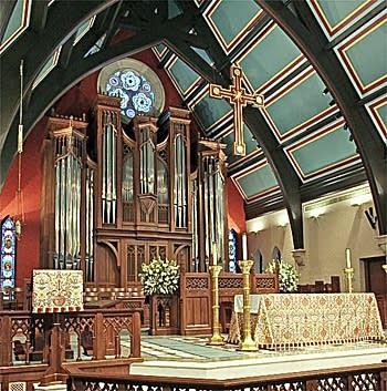 2007 Casavant Frères organ, Opus 3856, at St. Paul Episcopal,...