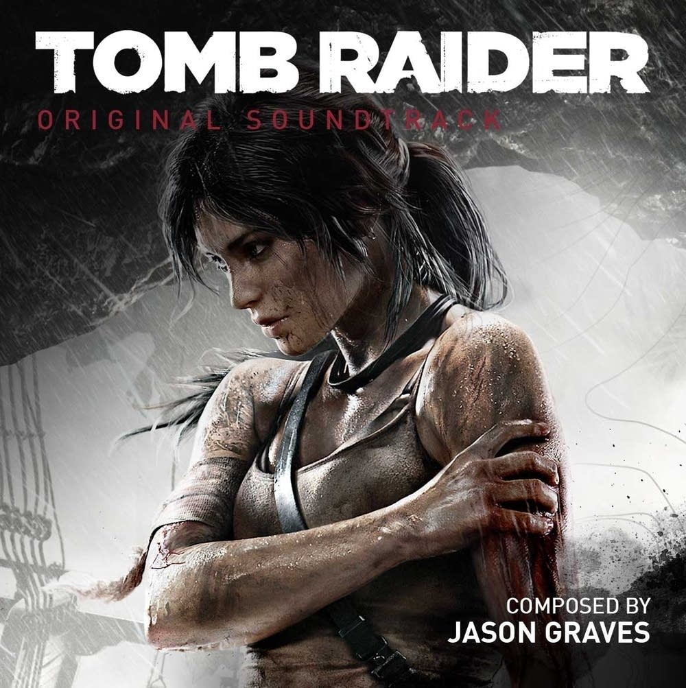 Tomb Raider OST cover art