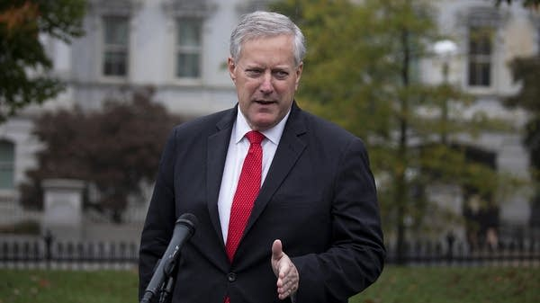 Chief Of Staff Mark Meadows Briefs Media At The White House