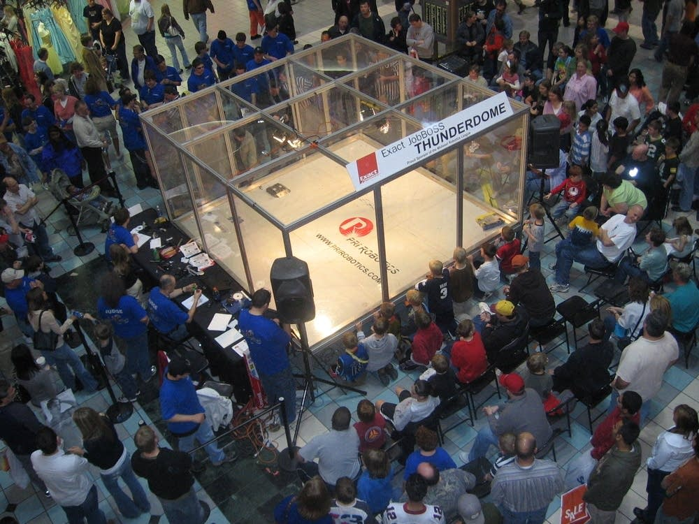 Robotics competition in 2013