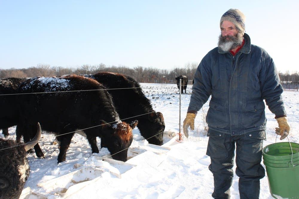 Yak farmer