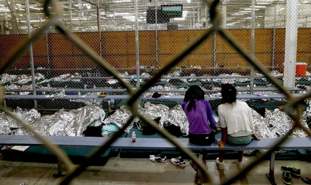 Undocumented children in an Arizona facility