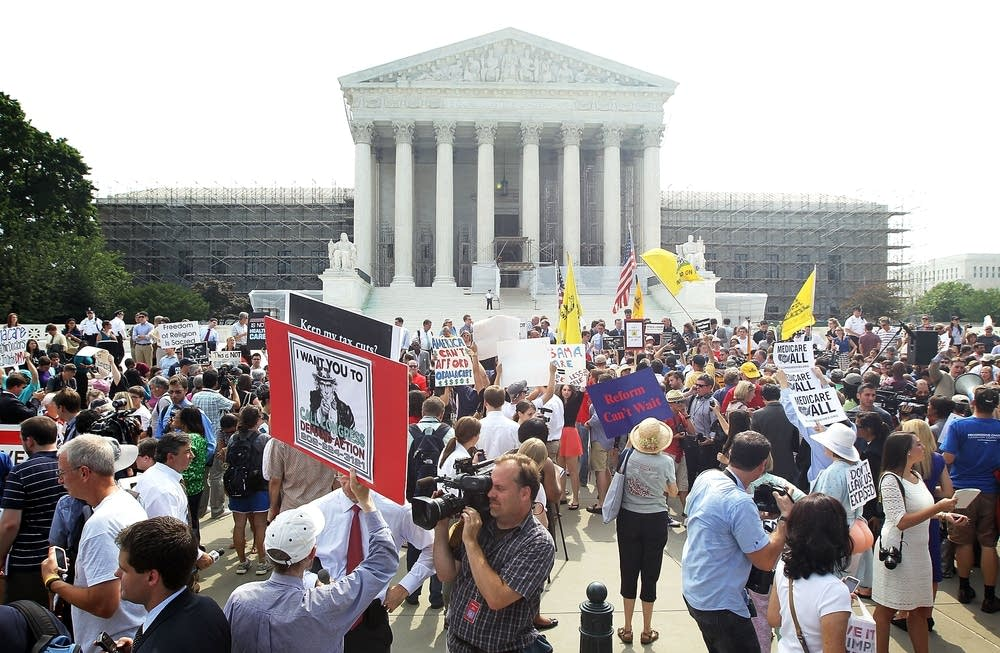 Supreme Court protests
