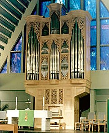 1999 Noack organ from Reykjavik, Iceland
