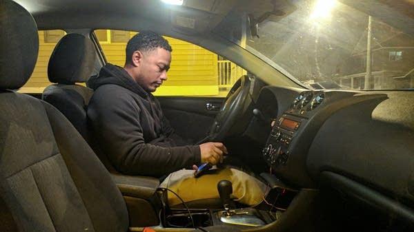 Victor Pizarro runs a taxi company near the Canadian border.