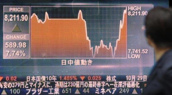 Nikkei stock index