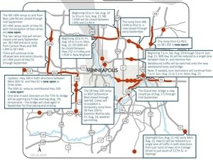 Weekend traffic impacts