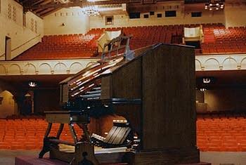 1929 Wurlitzer organ, Opus 2103, at Plummer Auditorium, Fullerton, California