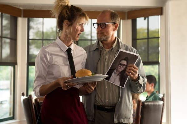 Laura Dern and Woody Harrelson play a divorced couple.
