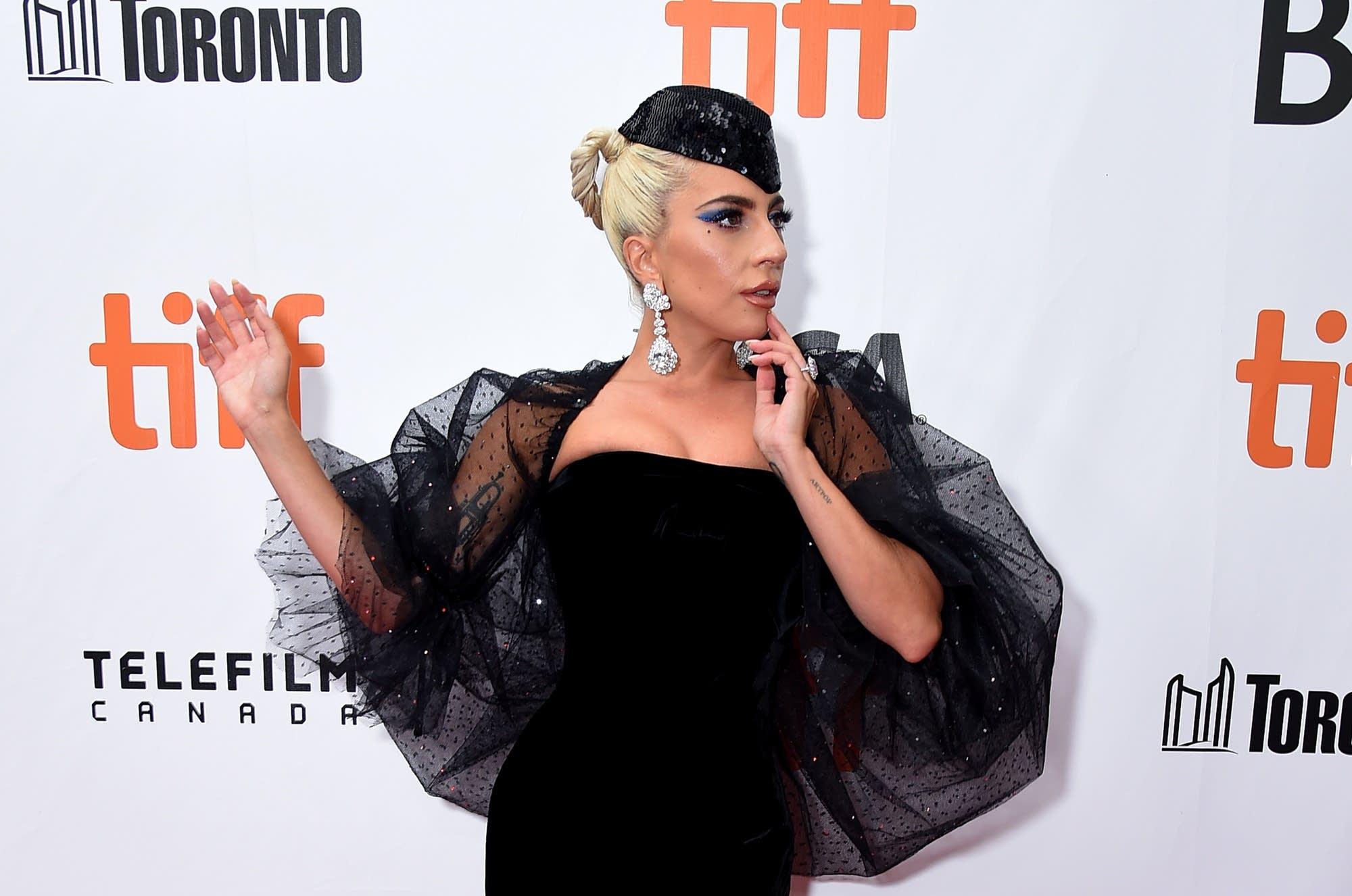 Lady Gaga at the Toronto International Film Festival