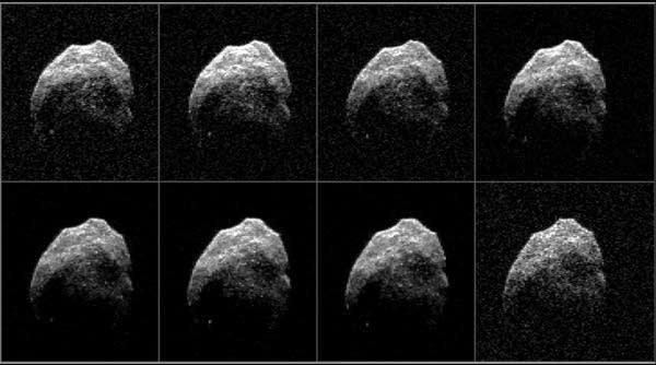 """""""Halloween"""" asteroid"""