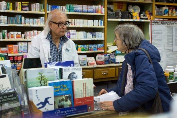 Minneapolis resident Sally Jorgensen talks about her prescription