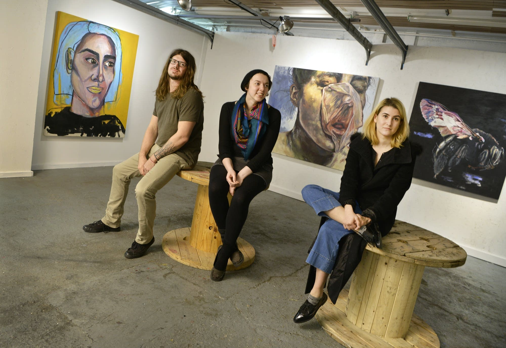 Tyler Gefroh, Beata Weber, Andrea Qual