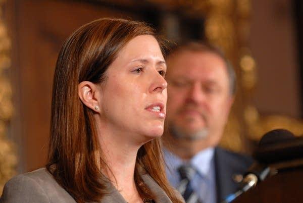 Assistant Senate Majority Leader Katie Sieben