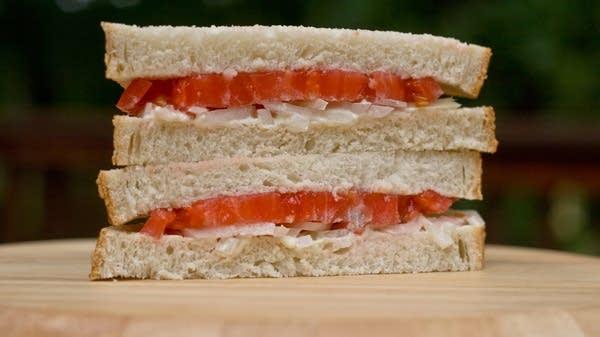 Last of the Tomatoes Commemorative Sandwich