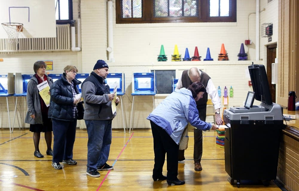 Voting in Minneapolis