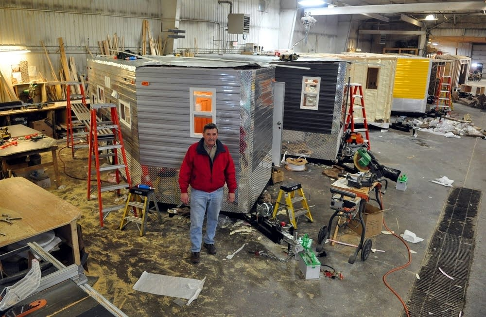 Minn company ice castle revolutionized ice fishing the for Ice castle fish house parts