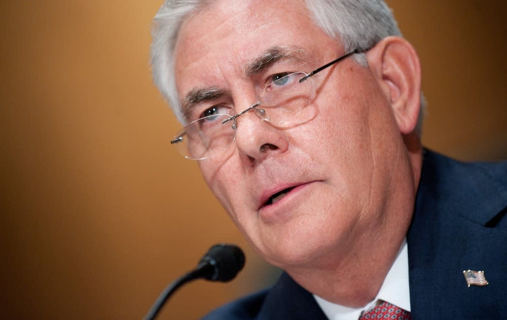 Exxon Mobile CEO and Chairman Rex Tiller