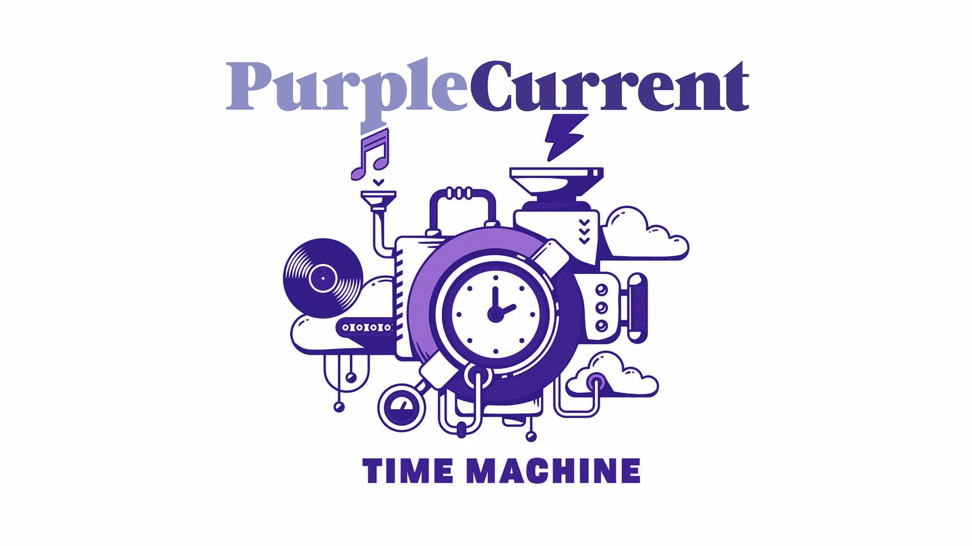 Purple Current Time Machine