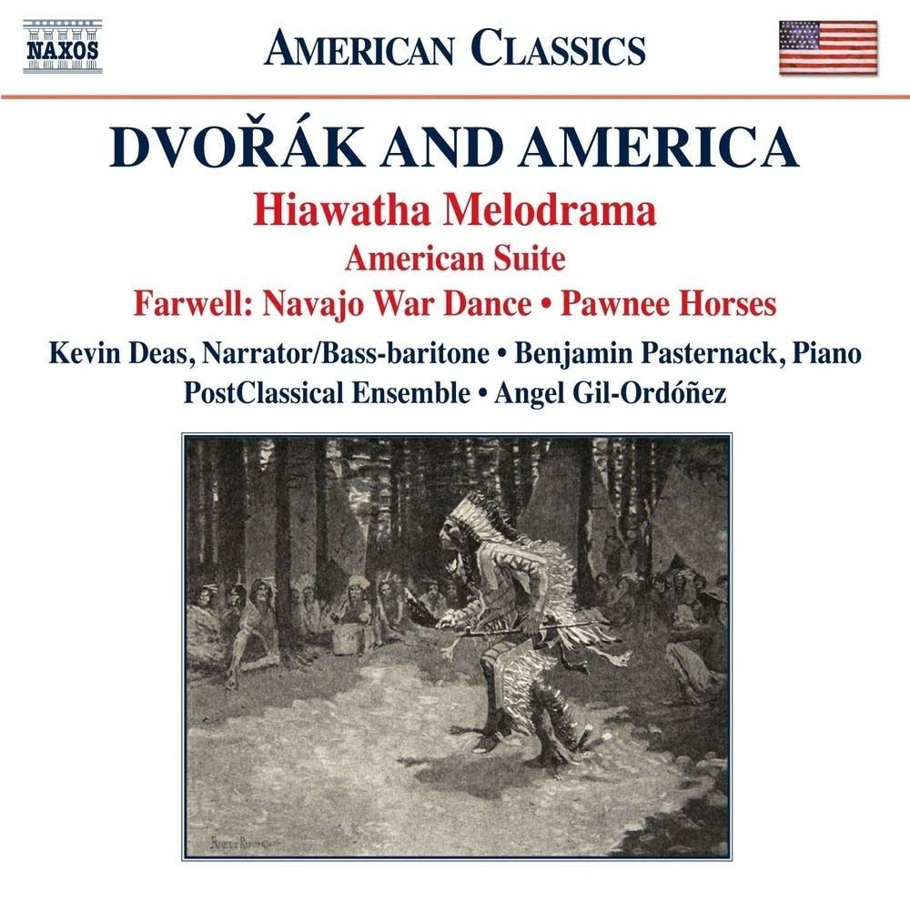 new classical tracks dvorak and america classical mpr dvorak and america album cover