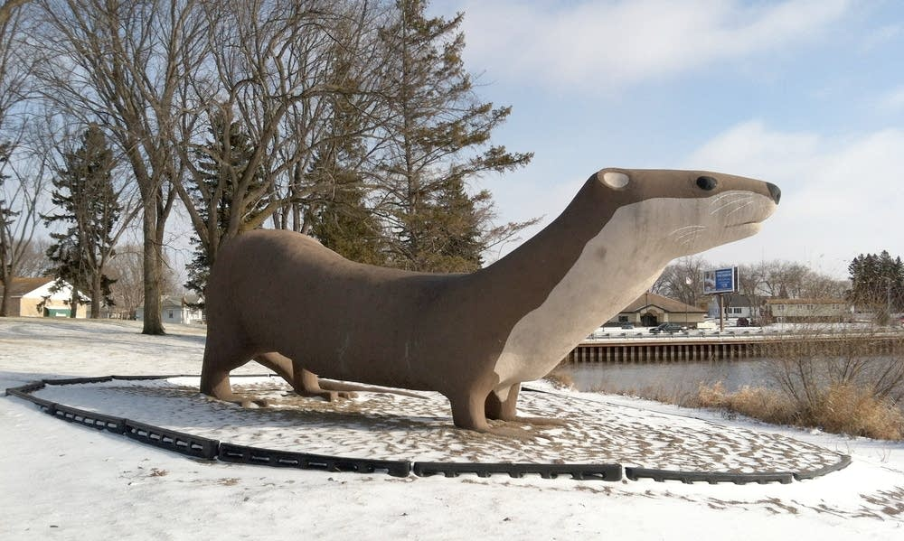 Otto the Big Otter