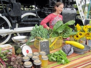 Janna Goerdt, a founder of the Tower Farmers Mkt.