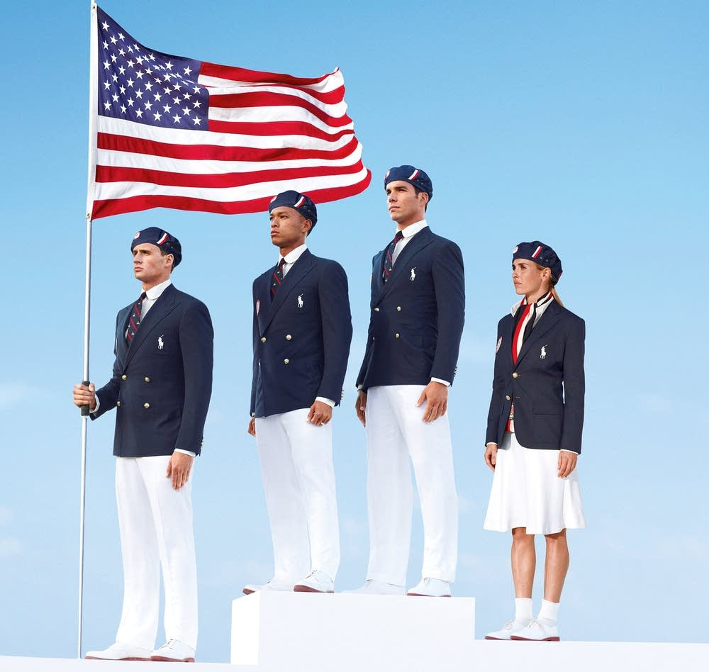 Team USA parade uniform