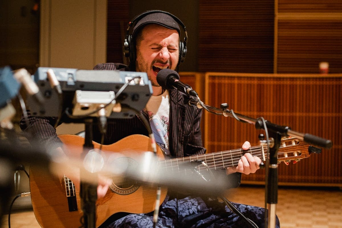 Gogol Bordello perform in The Current's studio