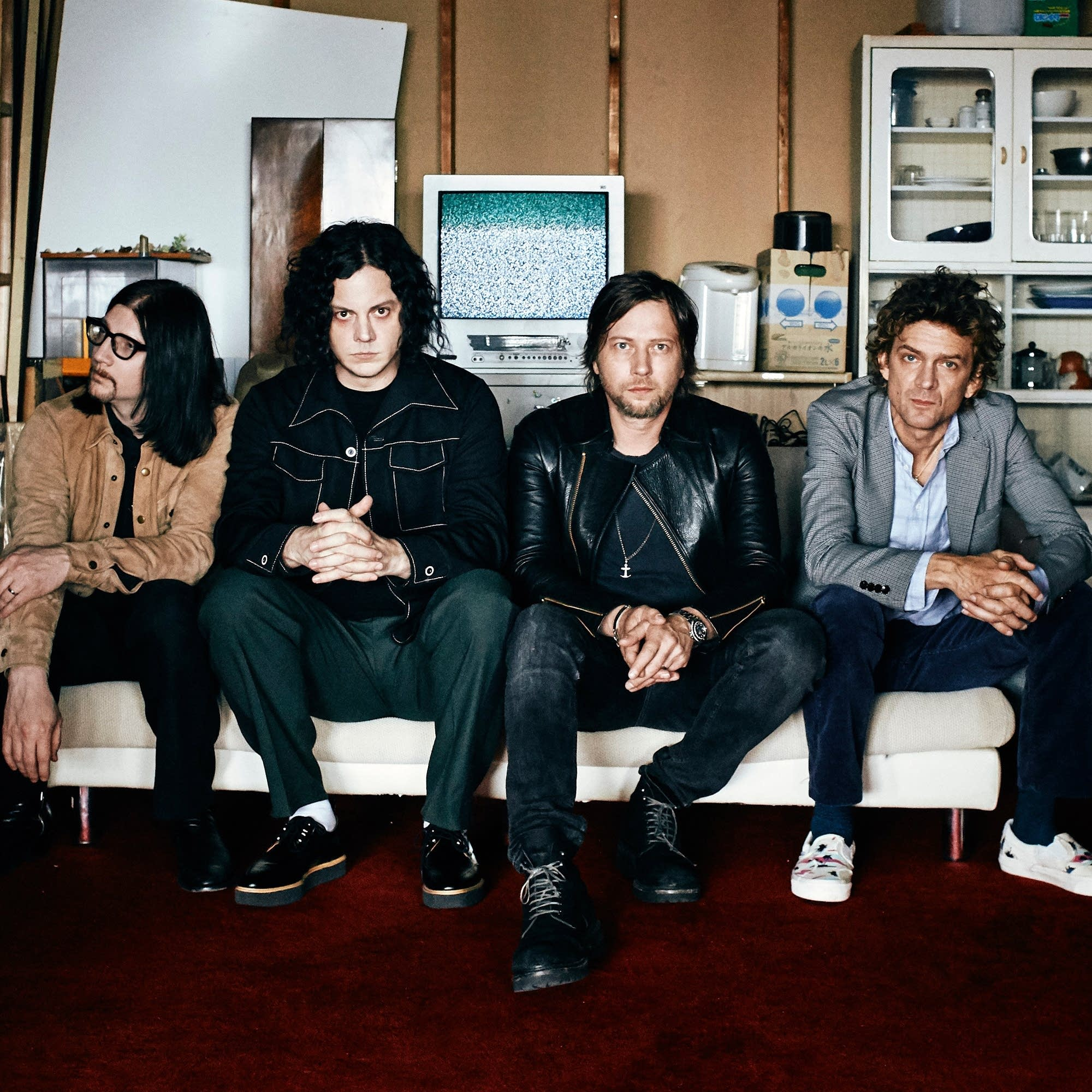 The Raconteurs 2019 press photo