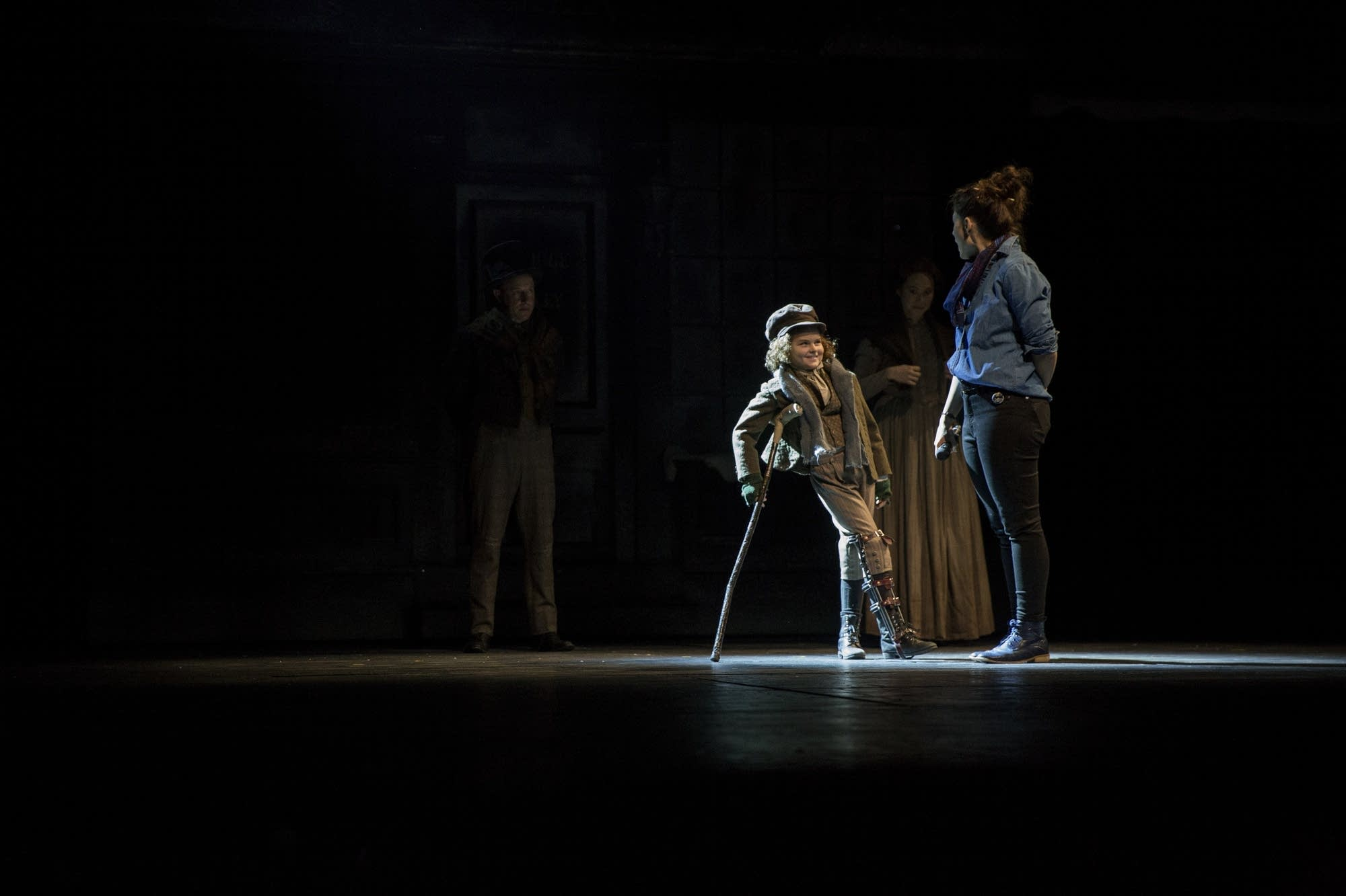 'A Christmas Carol' director Lauren Keating chats with Sophie Jones.