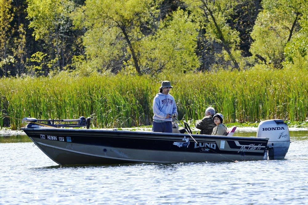 Fishing on Minnesota's Pelican Lake