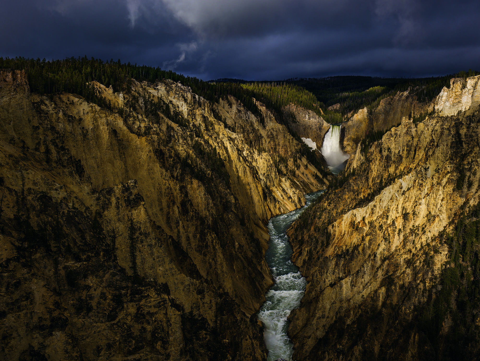 The Grand Canyon of the Yellowstone River